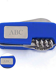Personalized Gift Multifunctional Swiss Army Knife Stainless Steel Keychain