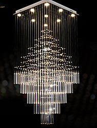 Metal - Lámparas Araña - Cristal/LED - Moderno / Contemporáneo/Tradicional/Clásico/Rústico/Campestre/Tiffany/Cosecha/Campestre/Isla