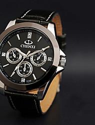 c&alto grau pulseira de couro relógio à prova d'água de x men