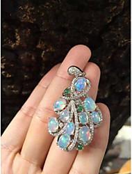 925 Silver Opal Pendant