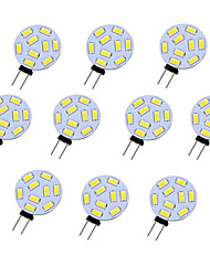 High Brightness 1.5W 9PCS 5730SMD Round G4 LED Bulb Light with DC12V Input, Warm White/Cool White Input