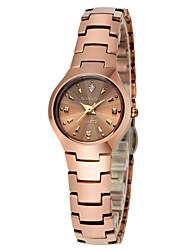 GUANQIN stile di moda di lusso di alta qualità giapponese orologio al quarzo in acciaio al tungsteno impermeabile 24 millimetri diamante