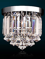 3W Traditional/Classic Crystal / LED / Mini Style Electroplated Crystal Chandeliers Hallway