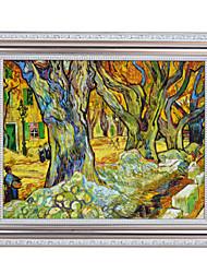 árvore por Vincent van Gogh Impressão em tela emoldurada