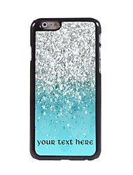 Personalized Gift Colorful Sand Design Aluminum Hard Case for iPhone 6