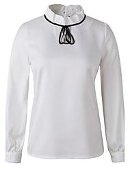 De las mujeres Camisa Licra - Manga Larga
