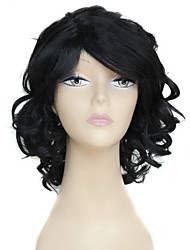 Europe And The United States the New Lady Black Short Curly Wig