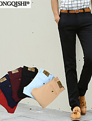AOLONGQISHI® Men's Casual Pure Suits Pants (Cotton)
