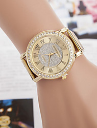 Women's Watches The Current Major Suit Alloy Watch Diamond Watches Quartz Watch Cool Watches Unique Watches