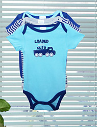 Children's 18pcs lot Kids Short-sleeve 100% Cotton Bodysuits 0-6 Romper Baby Jumpsuit Overalls & Jumpsuits