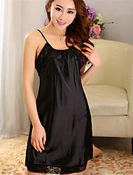 WEST BIKING® Women's Night Dressing Cool Artificial Sleeveless Nightdress Female Rayon Sling Professional Sleepwear