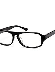 [Lense libre] acétate rectangle plein-rim mode ordonnance informatiques lunettes pour hommes
