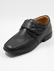 Boys' Shoes Wedding Synthetic / Leatherette Oxfords Fall Peep Toe Black
