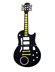 linda guitarra negro usb estilo 2.0 Flash 4gb de almacenamiento unidad flash pen memory stick