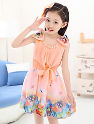 Kid's Casual Dresses (Acrylic/Chiffon)