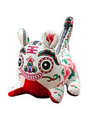 China Hand Embroidery Pendant-Printed Cloth Tiger (big)