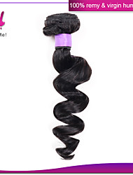 100% Brazilian Loose Wave Hair Weaves Remy Unprocessed Virgin Loose Wave Hair For Sale