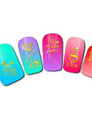 Child Design Hot Stamping Nail Art Stickers