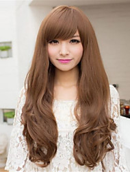 Japan and South Korea High Quality Fashion Long  Hair Wigs