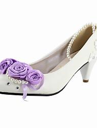 Zapatos de boda - Tacones - Tacones - Boda - Blanco - Mujer