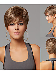 Pixie Cut Hairstyles Short Straight Synthetic Wigs for Women