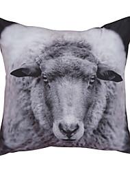 """al aire libre 18 almohada """"cuadrado animal print con inserción"""
