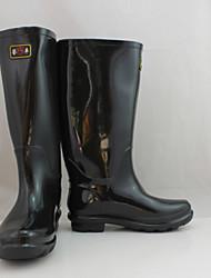 Black Rain Boots   YuFeng