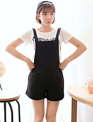 Women's Print Casual Suits (T-shirt & Shorts)