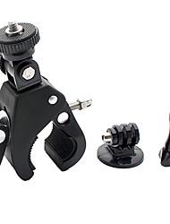 instalación rápida trípode bicicleta montaje + adaptador + tornillo largo para GoPro héroe 4/3 + / héroe 2 / héroe 3 / sj4000