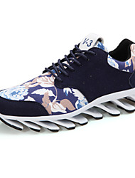 Indoor Court Women's Shoes Fabric Black/Blue