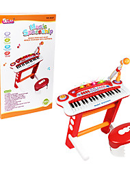 37 Key Multi-function Musical Electronic Organ Keyboard Toy With Microphone For Children