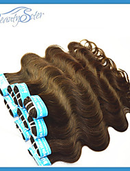 New Arrival Brazilian Brown Color Hair Weaves 400G Lot Grade5A Body Wave Real Human Hair