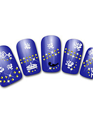 Lovely Notes Cartoon Finger Nail Stickers