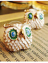 Damen Ohrring Legierung Stud Earrings