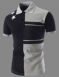 Men's Short Sleeve Polo , Cotton Casual/Work