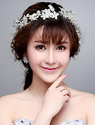 Pastoral Imitation Pearls Wedding/Party Headpieces/Forehead Jewelry
