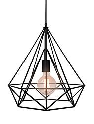 WestMenLights Industrial Retro Diamond Pendant Ceiling Light Hanging Lamp Mid Century