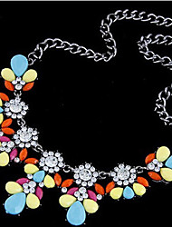 New Arrival Fashional High Quality Popular Geometric Wild Style Gem Necklace