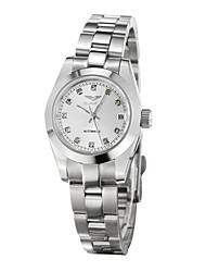 GUANQIN mujeres reloj reloj impermeable estilo de negocios de alto nivel de auto-mecánica moda