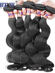 """1 pc / lot 12 """"-20"""" 8a peruanische reine Haarkörperwellen-Menschenhaareinschlagfäden 100% unverarbeitetes peruanisches remy Haar spinnt"""