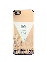 Personalized Gift Defines Your Future Design Aluminum Hard Case for iPhone 5/5S