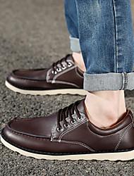 2015 Oxvale Summer Fashion Men's Shoes Black/Brown/Khaki Wedge Heel Casual