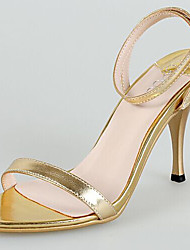 Stöckelabsatz - Kunststoff - FRAUEN Absätze - Sandalen (Gold)