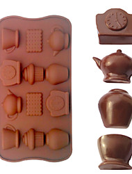 Teapot Shaped Baking Molds Ice/ Chocolate / Cake Mold