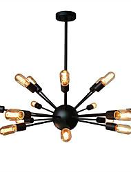 WestMenLights Sputnik Black Chandeliers Globe Ceiling Pendant Lamp 18 arms 900cm Diameter