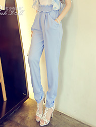 Pink Doll® Women's Casual Micro-elastic Harem Pants