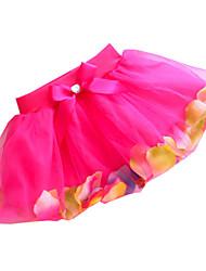 Children Kids Little Girls Baby Tulle Summer Petal Tutu Skirt Dress Clothes