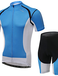 Cycling Jersey with Shorts Women's Short Sleeve Bike Breathable / Wearable / 3D Pad / Back Pocket Shorts / Jersey / Jersey + Shorts100%