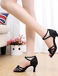 Zapatos de baile ( Negro/Rosado/Rojo/Multicolor/Fucsia/Otros ) - Danza latina/Dance Sneakers - Personalizados - Tacón Personalizado