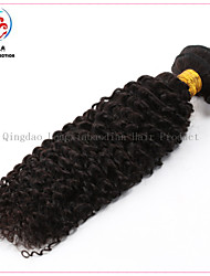 Top Qualtity Cheap Price Original Human Hair Natural Colour Kinky Curly Virgin Brazilian Hair Weft